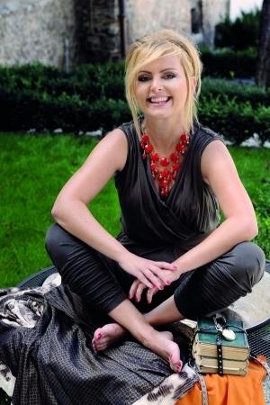Eva Urbanikova Feet