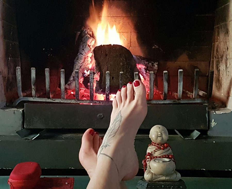 Ursula Vargues Feet