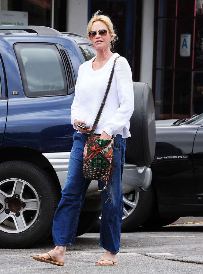 Melanie Griffith Feet