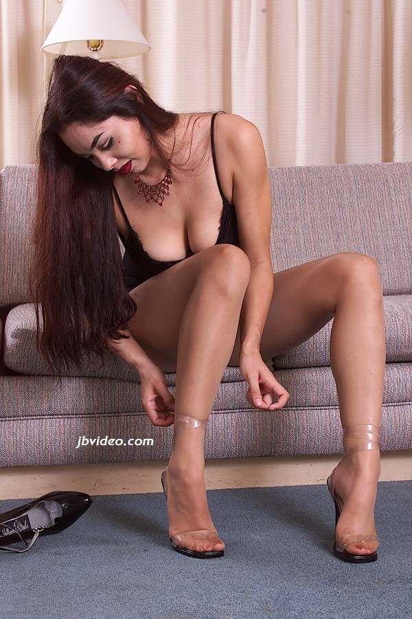 Ruby Bordeaux Feet