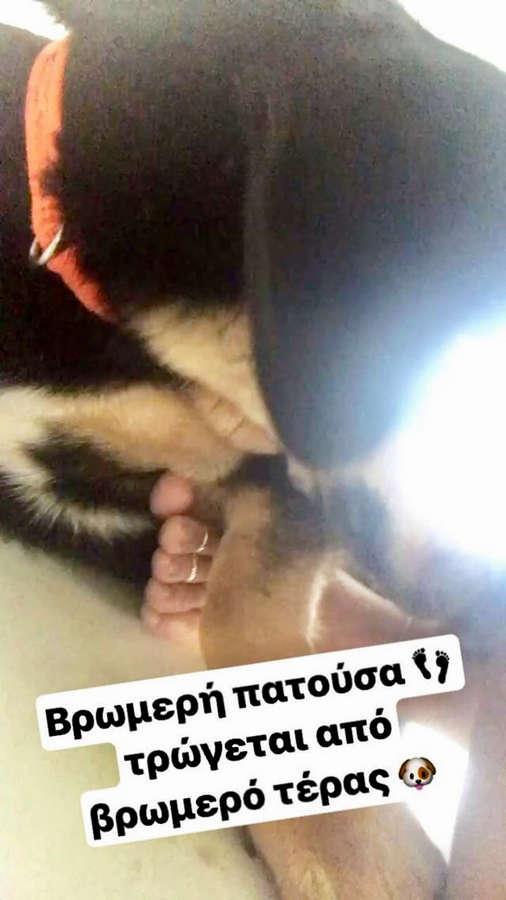 Maria Korinthiou Feet