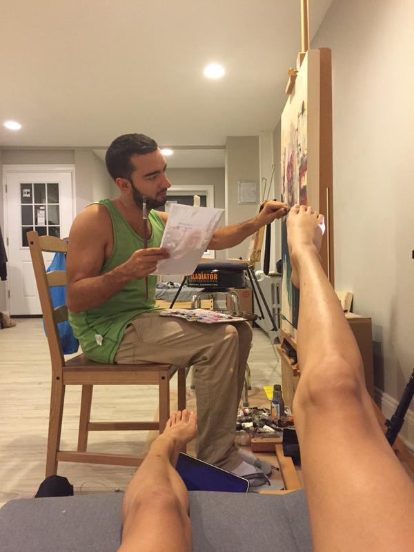 Sheena Liam Feet