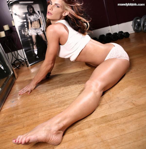 Mandy Blank Feet