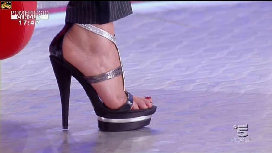 Barbara DUrso Feet