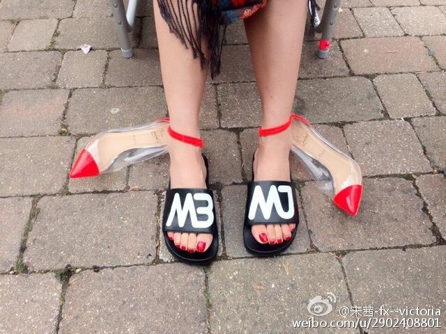 Victoria Song Feet