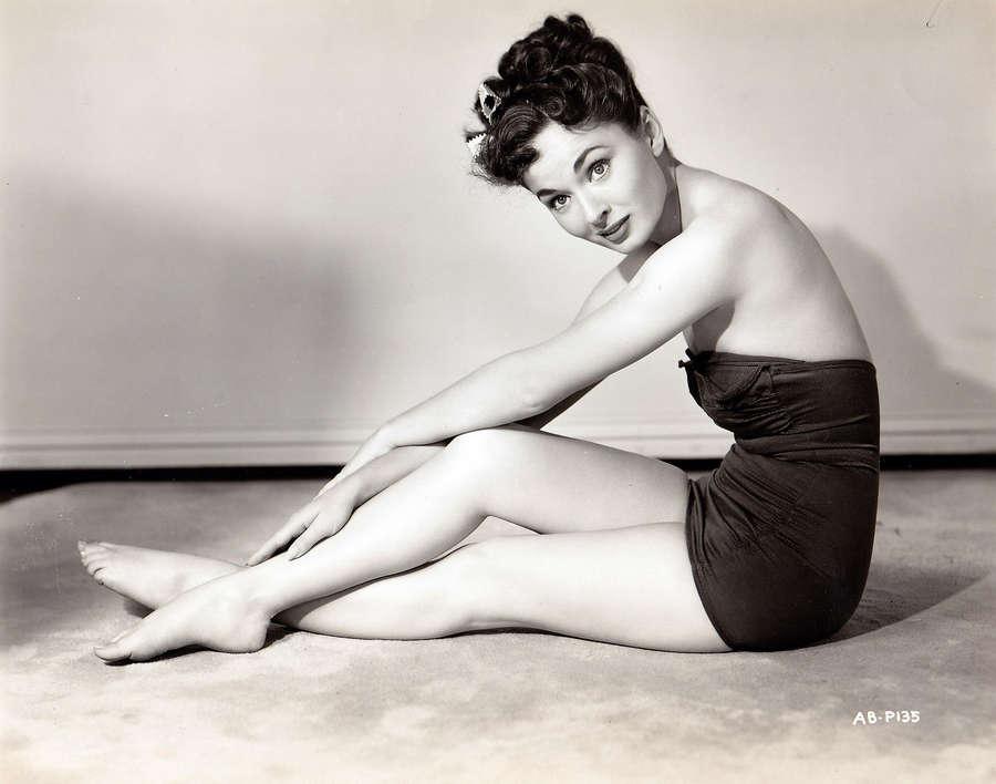 Ann Blyth Feet