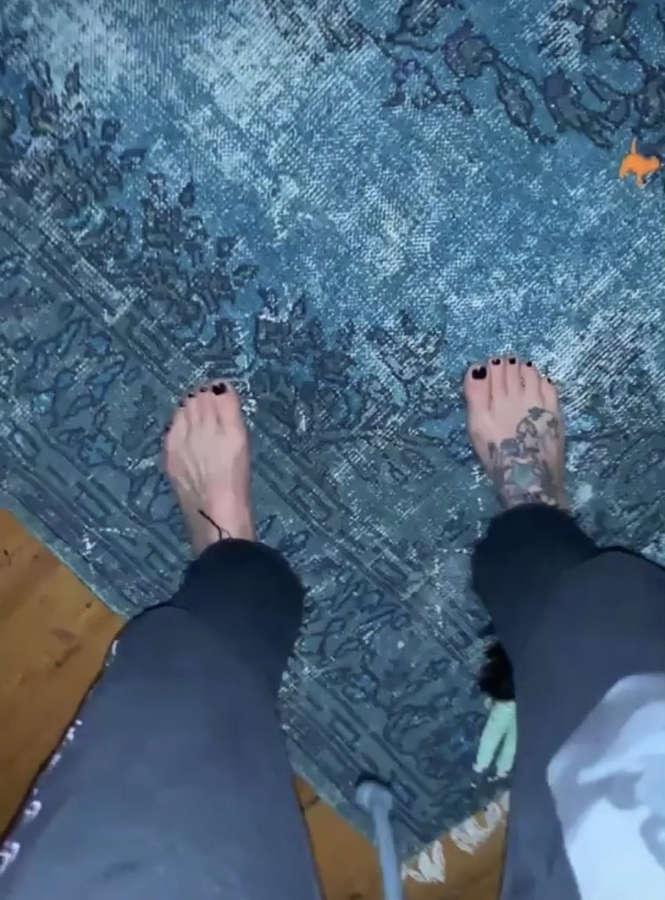 Fearne Cotton Feet
