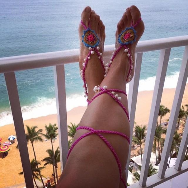 Adriana Riveramelo Feet