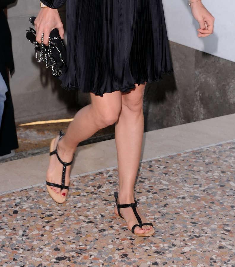 Charlotte Casiraghi Feet