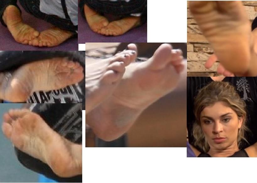 Grazi Massafera Feet