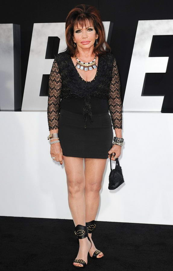 Jackie Stallone Feet