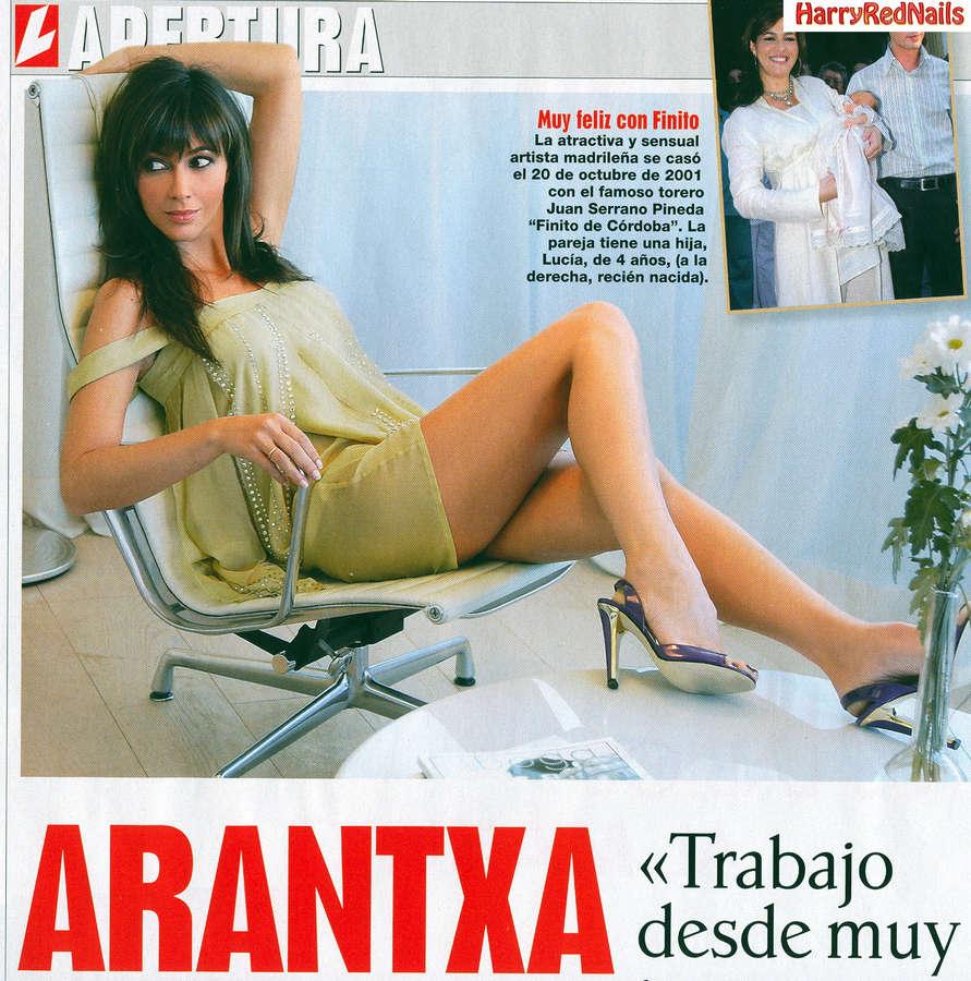 Arancha Del Sol Feet