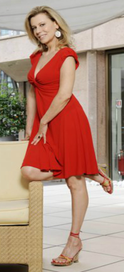 Daniela Poggi Feet