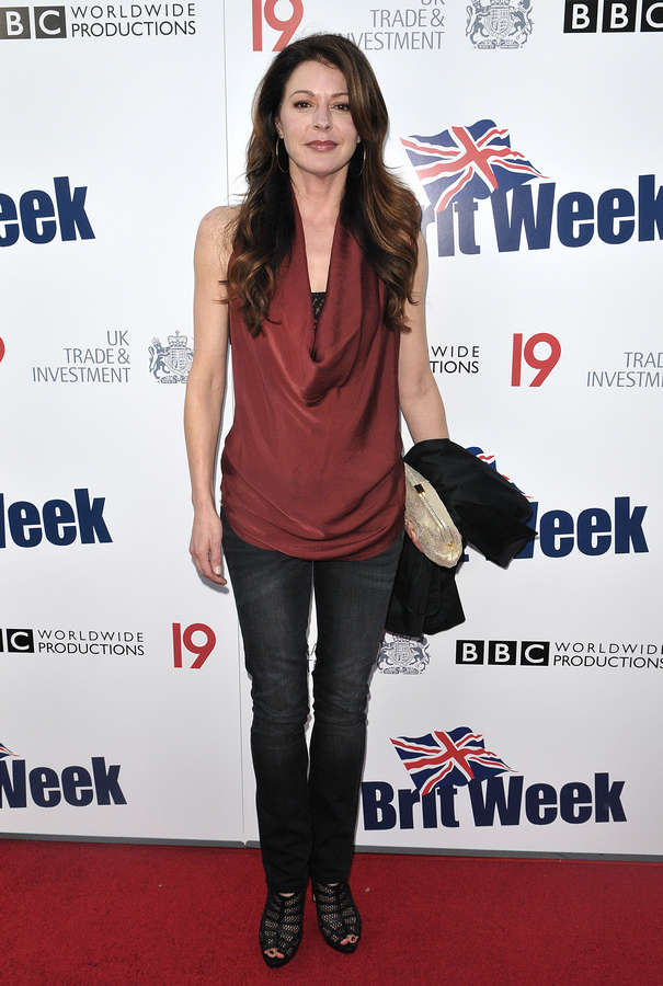 Jane Leeves Feet