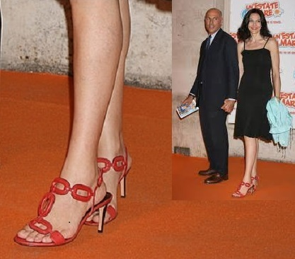 Luana Colussi Feet