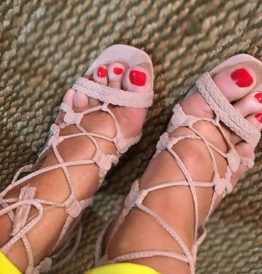 Jacqui Stafford Feet
