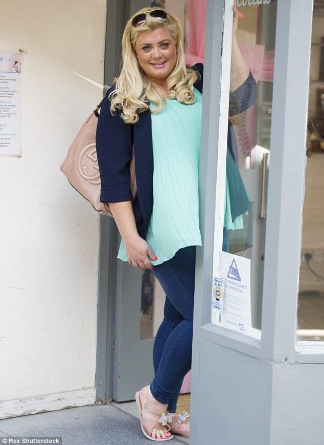 Gemma Collins Feet