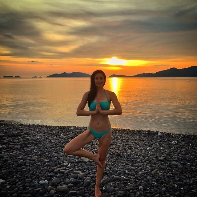 Natalie Glebova Feet