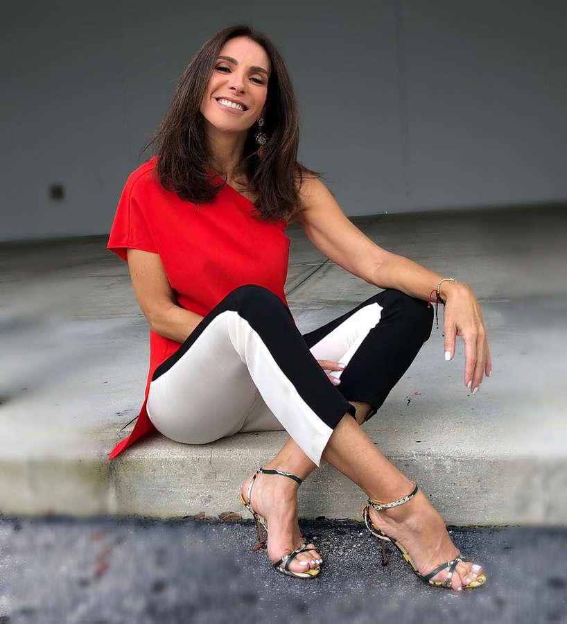 Maggie Jimenez Feet