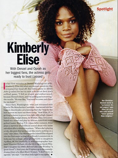 Kimberly Elise Feet