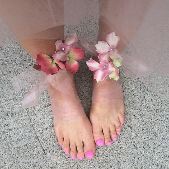 Shavaughn Ruakere Feet