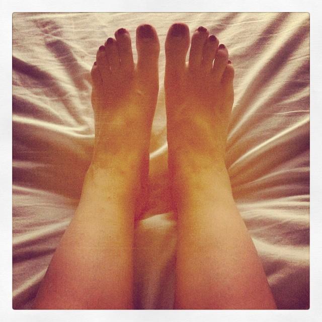 Karina Banno Feet
