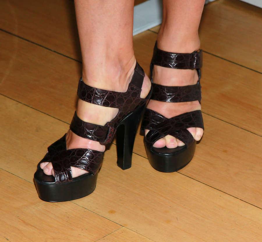 Edie Falco Feet