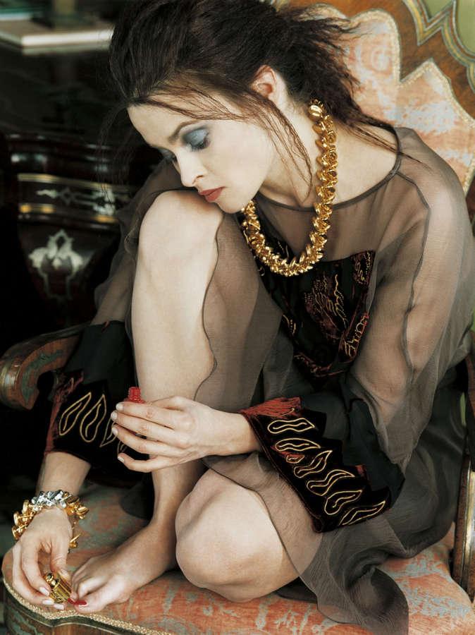 Helena Bonham Carter Feet