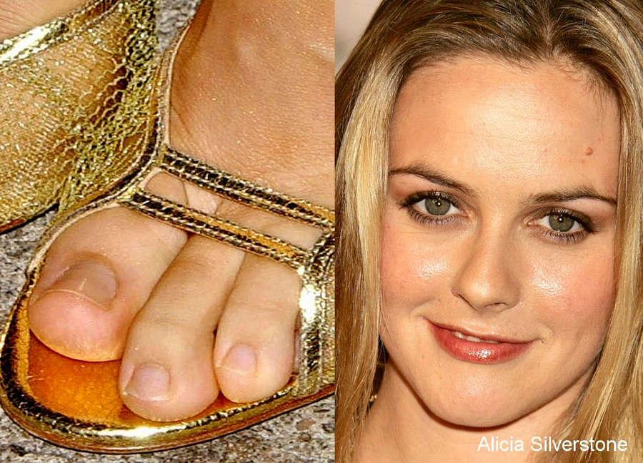 Alicia Silverstone Feet