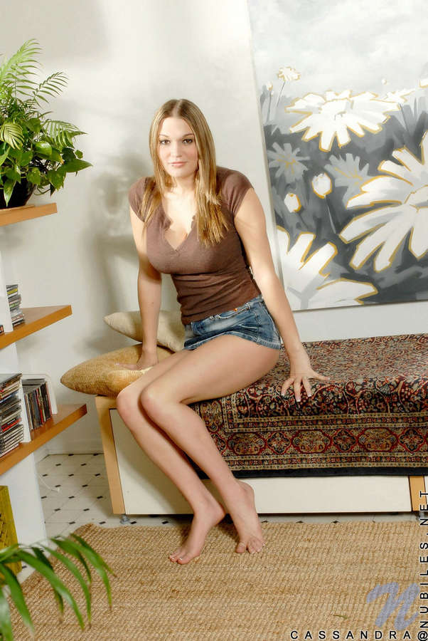 Cassandra Calogera Feet