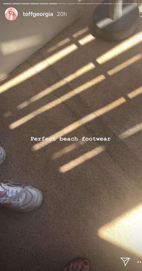 Georgia Toffolo Feet