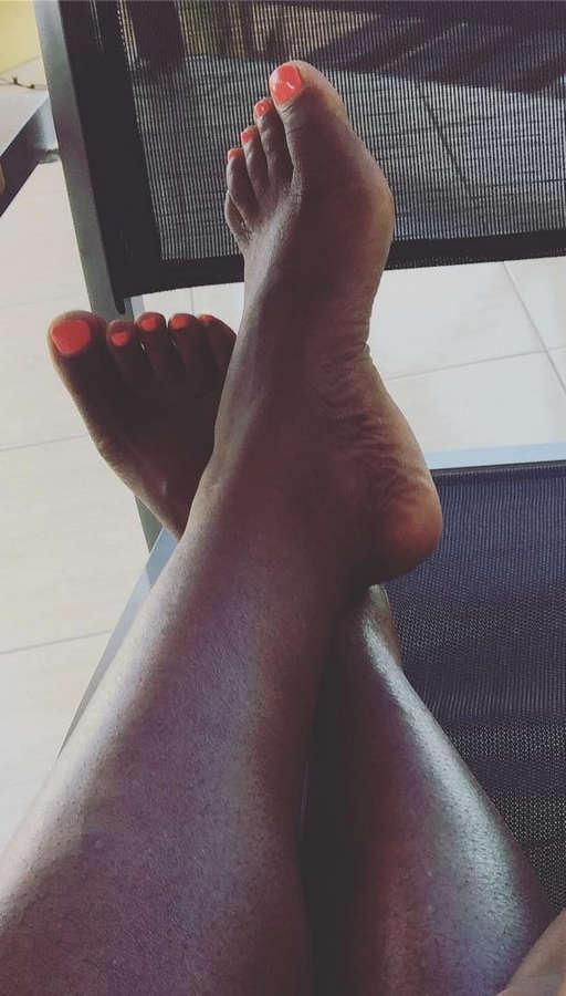 Edsilia Rombley Feet