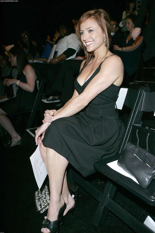 Christine Lakin Feet