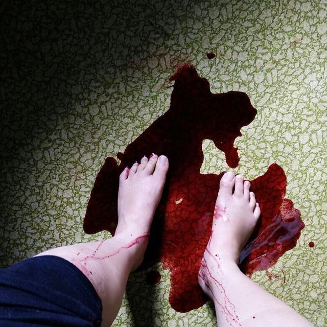 Izara Aishah Feet