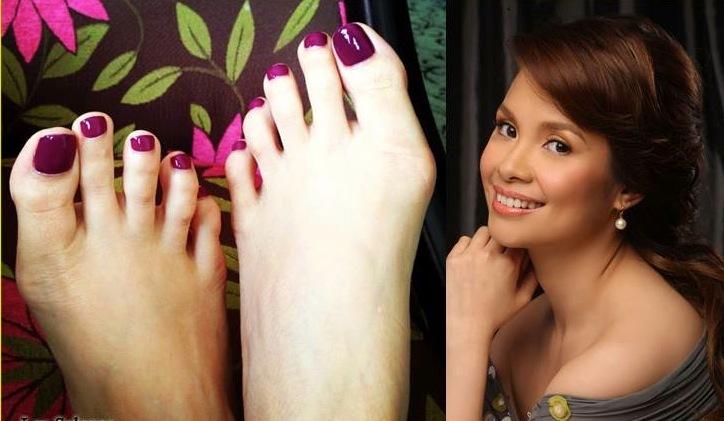 Lea Salonga Feet