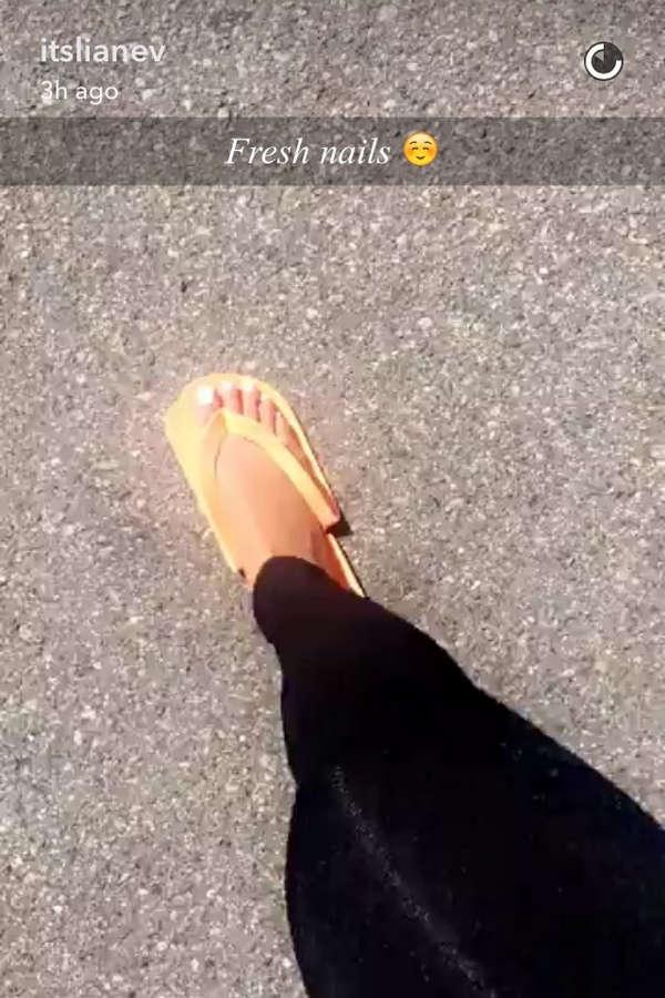 Liane Valenzuela Feet