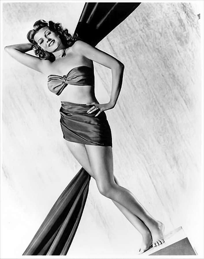 Rita Hayworth Feet