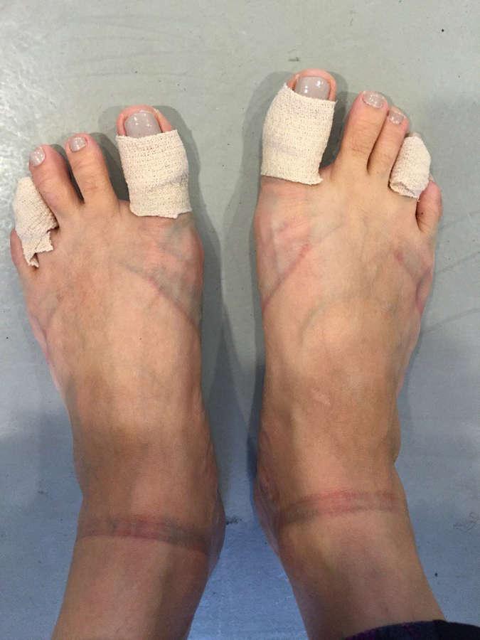 Karen Olivo Feet