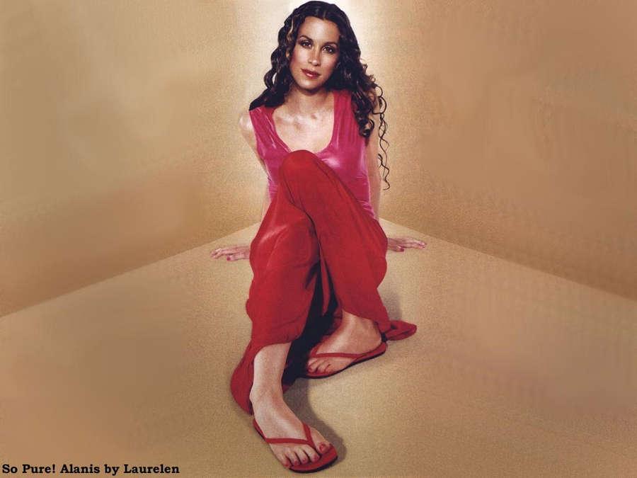 Alanis Morissette Feet