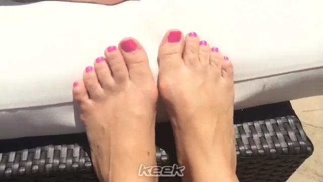 Pattie Mallette Feet