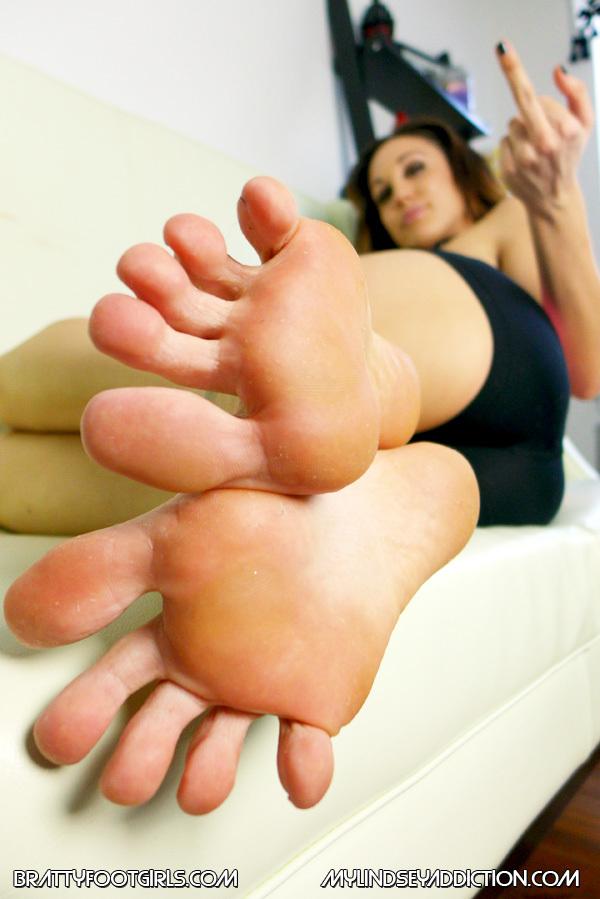 Lindsey Leigh Feet