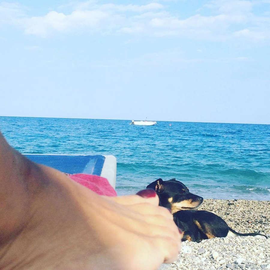 Lidia Vitale Feet
