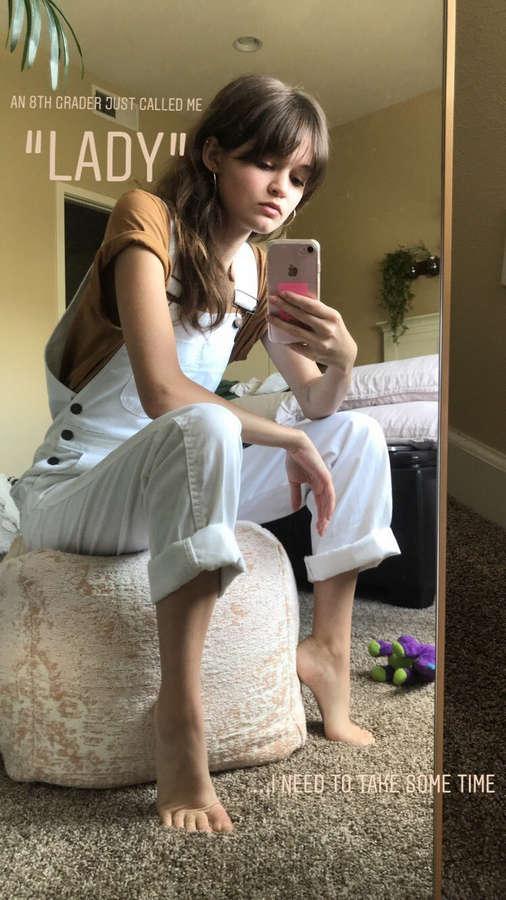 Ciara Bravo Feet