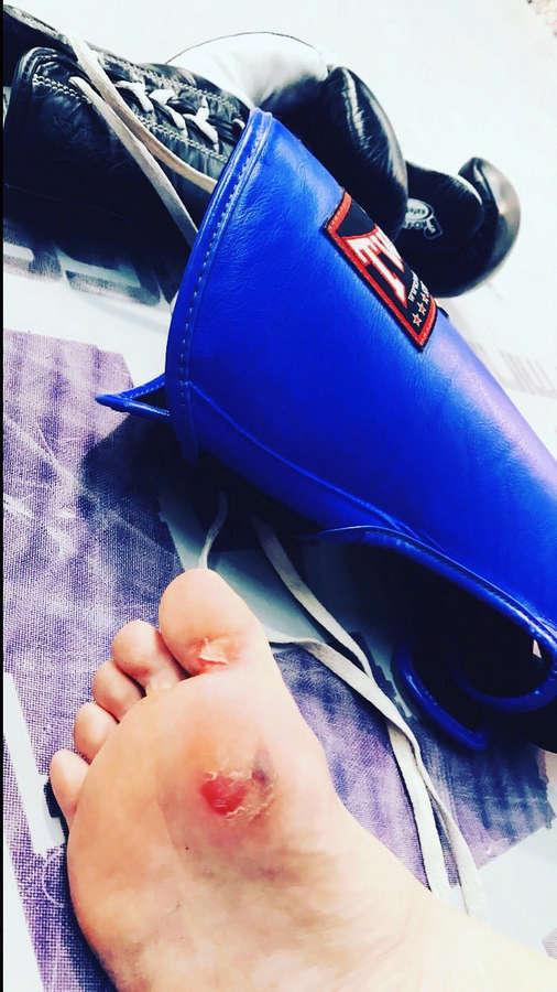 Bec Hyatt Feet