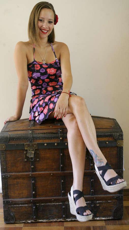 Ingrid Parra Feet