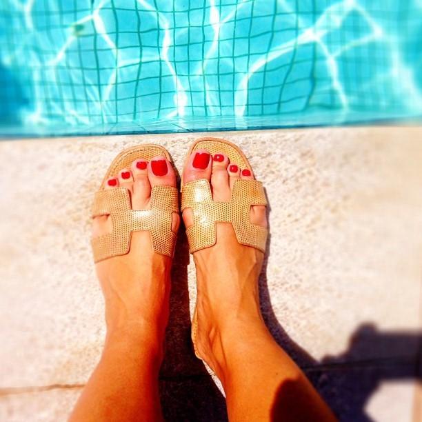 Gabrielle Lopes Feet