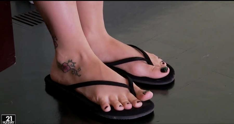 Dani Jensen Feet