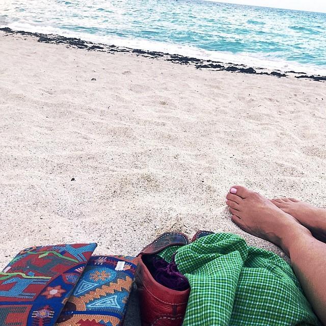 Roxana Castellanos Feet
