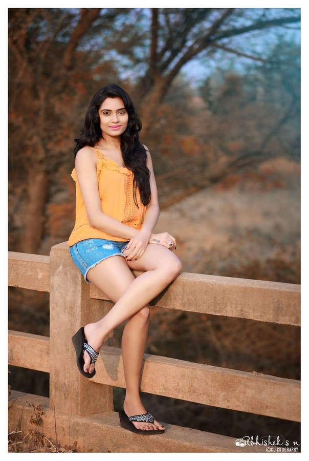 Sangeetha Bhat Feet
