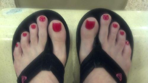 Vanilla DeVille Feet